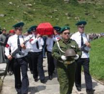 В Карачаево-Черкесии предали земле останки двух безымянных защитников Кавказа