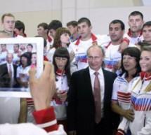 Владимир Путин встретился с российскими спортсменами – чемпионами и призёрами XXVII Всемирной летней Универсиады