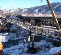 Мост через реку Теберда закрыт на реконструкцию