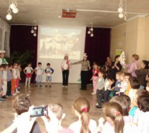 «Малая олимпиада» в детском саду «Солнышко»