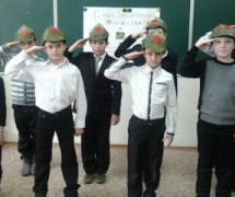 Военные песни устами детей