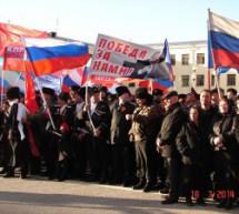 Жители Карачаевска приняли участие в многотысячном митинге в поддержку населения Крыма