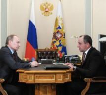Встреча Президента России с Главой Карачаево-Черкесии Рашидом Темрезовым