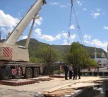 «Брациговский» мост в стадии завершения