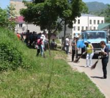 Город Карачаевск принял участие в Международном экологическом субботнике