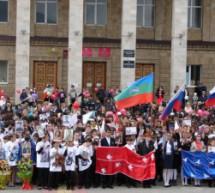 В Карачаевске прошел торжественный митинг, посвященный 70-летию Победы