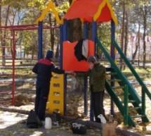 Реконструкция парка в Карачаевске продолжается