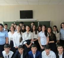 В Гимназии  № 4 Карачаевска прошел урок патриотизма «Защитники Отечества»