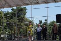 В Карачаевске состоялся траурный митинг, посвященный Дню Памяти и скорби