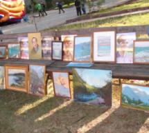 В День города в Карачаевске прошла выставки живописи
