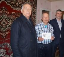 Житель Теберды получил поздравление от президента РФ с 90-летием