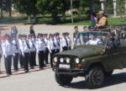 Школьников Карачаевского городского округа приняли в ряды юнармии