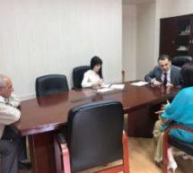 И.о. Мэра Алибек Каракетов провел прием граждан