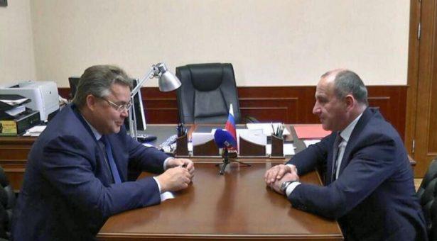 Глава Карачаево-Черкесии и Губернатор Ставрополья заявили об отсутствии споров между субъектами