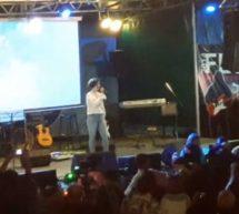 В п. Домбай открылся фестиваль популярной музыки «Ночи Домбая-2017»