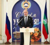 Рашид Темрезов вручил госнаграды и почетные звания работникам системы образования Карачаево-Черкесии