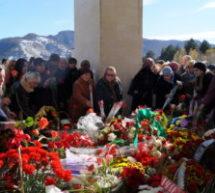 У Мемориального комплекса жертвам депортации карачаевского народа прошел траурный митинг, посвященный 74 годовщине со дня депортации