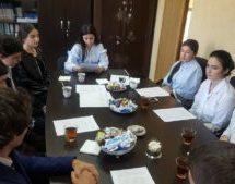 В Территориальной избирательной комиссии Карачаевского городского округа прошло первое заседание молодежной ТИК КГО