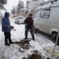 В Карачаевске ограждают тротуар от проезжей части