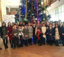 Учащиеся Карачаевского городского округа  приняли участие в Новогодней Ёлке Главы Карачаево-Черкесии
