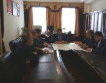 Алик Динаев провел рабочую встречу с директором ООО «ГеоВерсум» Михаилом Черномуровым