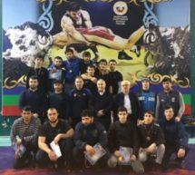 Борцы Карачаевского городского округа завоевали шесть из десяти золотых медалей Первенства КЧР по спортивной борьбе