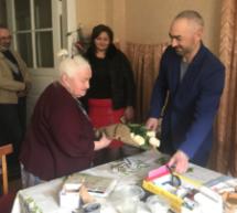 В Карачаевске поздравили ветеранов труда с 90-летием