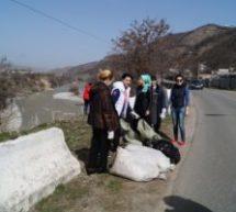 Эстафету акции «Чистый город» пряняли жители пос. Мара-Аягъы