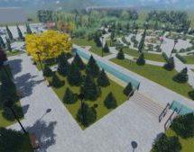 Парк культуры и отдыха в городе Карачаевске