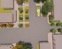 Дизайн проект Общоественной т. пересечении ул.Мира и Коста Хетагурова