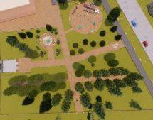 Дизайн Проект Парковой т. в г.Теберда