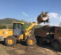 В рамках Всероссийской акции «Чистый берег» в п. Орджоникидзевский проведена очистка береговых линий от мусора