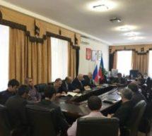 Алик Динаев провел оперативное совещание с главами подведомственных Администраций и руководителями предприятий КГО