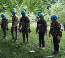 Карачаевский городской округ был достойно представлен на республиканском турслете среди школьников