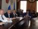 Алик Динаев провел оперативное совещание, в работе которого приняли участие главы поселений округа, руководители Управлений и учреждений АКГО