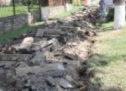 По программе формирования комфортной городской средыперед КЧГУ им. У. Д. Алиева начались работы по замене асфальта на тротуарную плитку