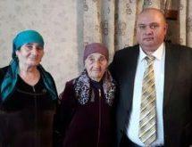 Жительница Карачаевского городского округа Кулистан Шаманова получила поздравительное письмо с 90-летием от  Владимира Путина