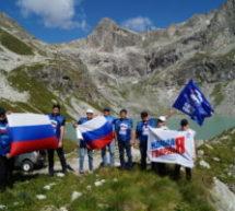 Делегация Администрации Карачаевского городского округа совершила восхождение на вершину Клухорского перевала