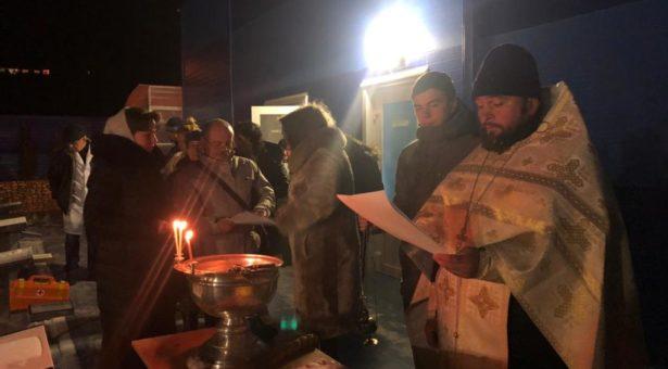 Православные христиане отметили один из главных церковных праздников — Крещение Господне