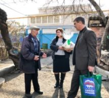 В Карачаевском городском округе ветеранов поздравили с днем защитника Отечества
