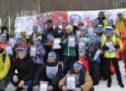 В Домбае прошли массовые лыжные гонки «Лыжня России»