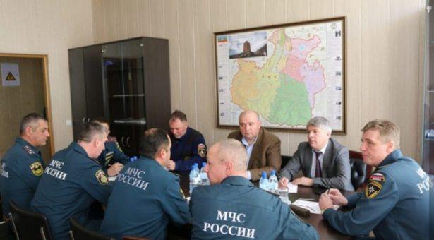 Комиссия МЧС России провела ряд рабочих встреч и совещаний в Карачаевском городском округе