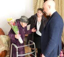 В Карачаевском городском округе поздравили женщин-юбиляров, участников Великой Отечественной войны с Международным женским днем!