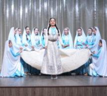 Отчетный концерт детской образцовой студии национального танца «Taulu» и народного ансамбля фольклорной песни «Алибек» прошел в Карачаевске