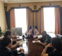 Под председательством Алика Динаева состоялось рабочее совещание с участием государственного инспектора по пожарному надзору Карачаево-Черкесской Республики