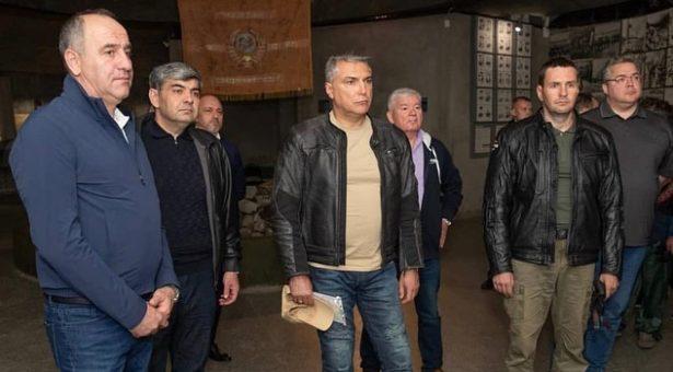 Александр Матовников принял участие в мотопробеге, посвященном памяти защитников перевалов Кавказа, проходившем по территории Карачаево-Черкесии