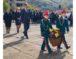 Празднование Дня города началось с возложения цветов к памятнику воинам, павшим в годы Великой Отечественной войны, на Аллею Героев и на мемориал жертвам депортации карачаевского народа