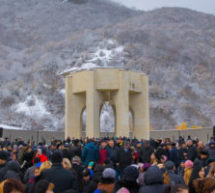 У Мемориала жертвам депортации карачаевского народа прошел траурный митинг, посвященный 76 годовщине депортации