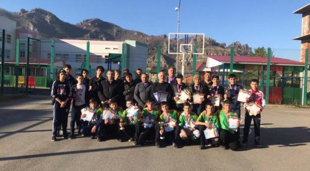 Состоялась спартакиада  юнармейцев среди учащихся 8-9 классов общеобразовательных учреждений КГО