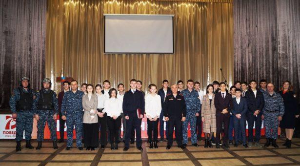 В Карачаевске прошла встреча учащихся СШ  с представителями Управления Росгвардии